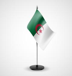 Table flag of Algeria vector