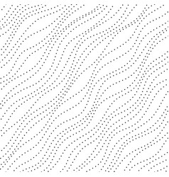 wave dots pattern vector image