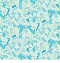 blue mosaic abstraction Seamless background vector image vector image