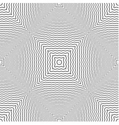 seamless checked convex pattern vector image vector image