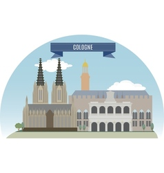 Cologne vector image vector image