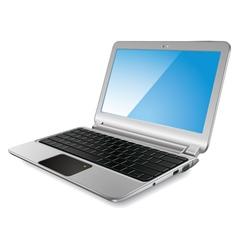 Modern laptop vector image
