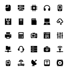 Network Technology Icon 1 vector image