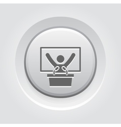 Training icon business concept vector