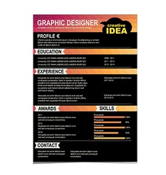 Graphic designer vector