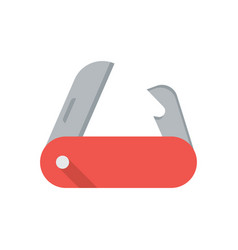 pocket knife icon vector image