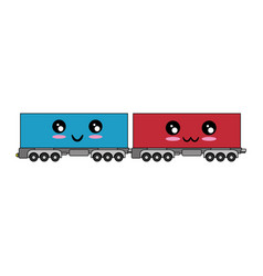 Wagons icon image vector