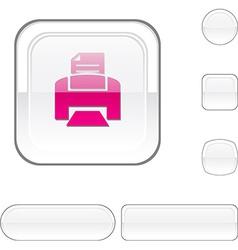 Print white button vector