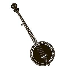 banjo stock vector image vector image