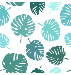tile tropical summer pattern vector image vector image