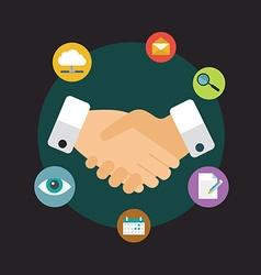 Customer relationship management - vector