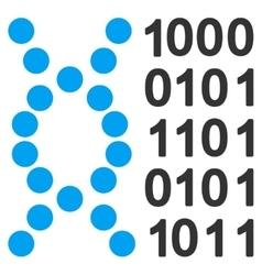 Dna Code Icon vector image