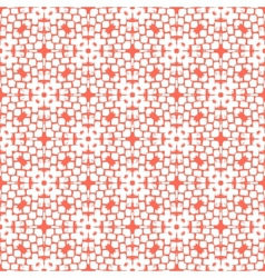 Hand painted geometric seamless pattern vector image