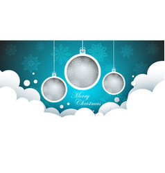 new year s ball - merry vector image vector image