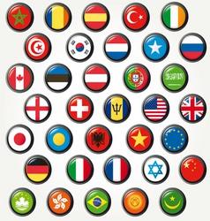 world s vector image