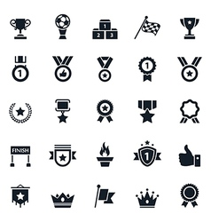 Awards and Trophy Icons vector