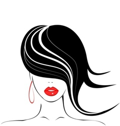 beauty icon vector image