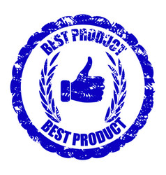 Best product quality rubber stamp for mark item vector