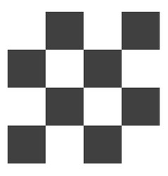 chess cells icon vector image