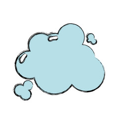 Clouds design and natural weather vector