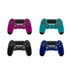 gamepad for a console game vector image