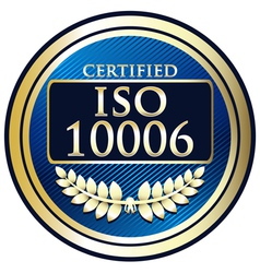 ISO 1006 vector image