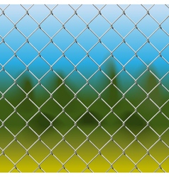 Mesh Fence with Background vector