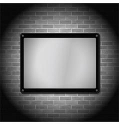 Metal Frame vector image