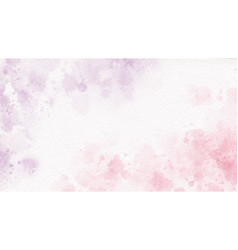 Pink and purple sweet candy valentines wet wash vector