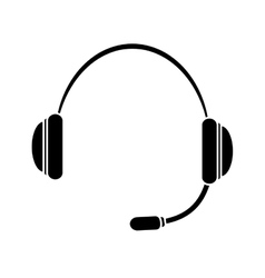 headphone service repair icon vector image