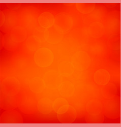 red blurred light background vector image