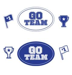 Sports icons logos and symbol set vector image
