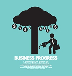 Business Progress Concept vector image