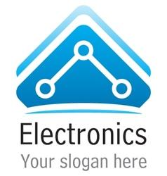 Eletronics icon vector image