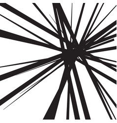 abstract black and white lines background vector image