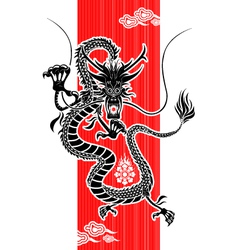 chinese dragon new year vector image