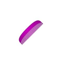 comb icon vector image