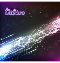 Cosmic background energy flow vector