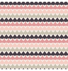Cute retro abstract stripe seamless pattern vector