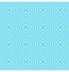 Geometric Flower Blue seamless pattern background vector image