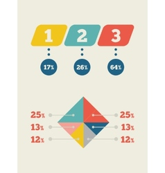 Infographic Element vector image