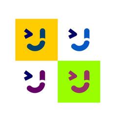 J smile vector