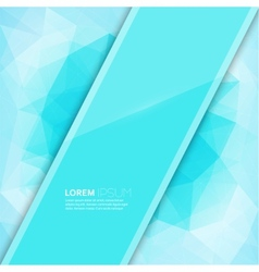 modern trend glossy blank with a background vector image