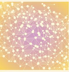 Molecules background eps 10 vector