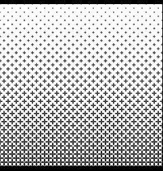 Monochrome geometrical pattern - background vector