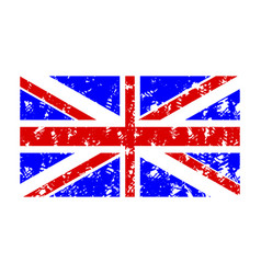 Rubber stamp flag united kingdom vector