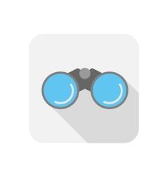 Binocular icon vector image