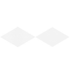 isometric grid line paper isometric grid dots vect vector image