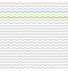 Zig zag tile chevron pattern vector image