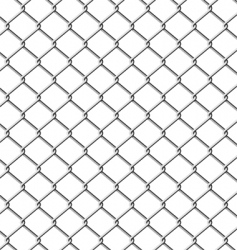 chain-link fence seamless vector image vector image